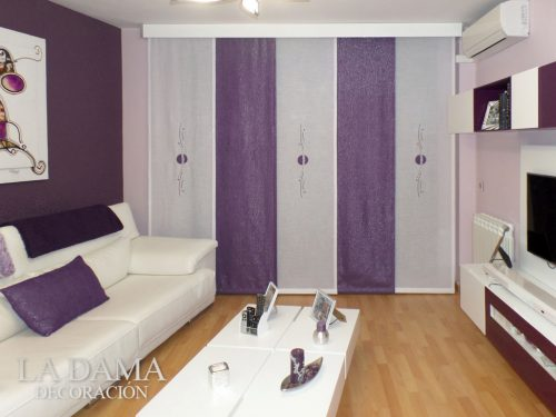 cortinas-de-panel-japonés-en-color-morado