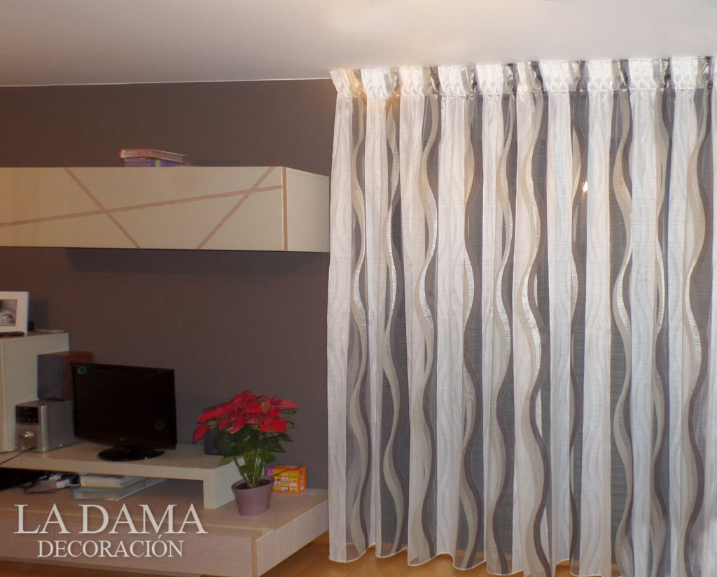 good with cortinas salon moderno - Cortinas Salon Moderno