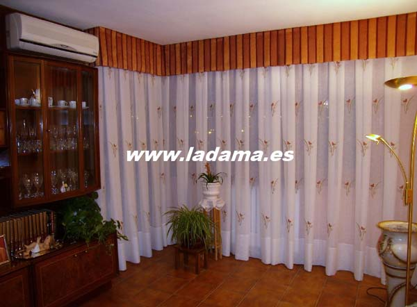 130 la dama decoraci n for Ver cortinas para salon